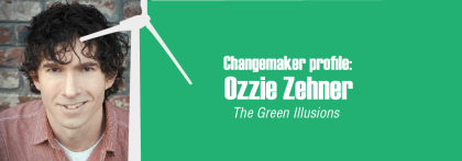SHIFT-magazine #0007 thumbnail -_Changemaker profile Ozzie Zehner-green illusions, sustainability, renewables